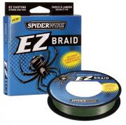 "Шнур ""SPIDERWIRE"" EZ Braid 0.15 100м зеленый 1201508"